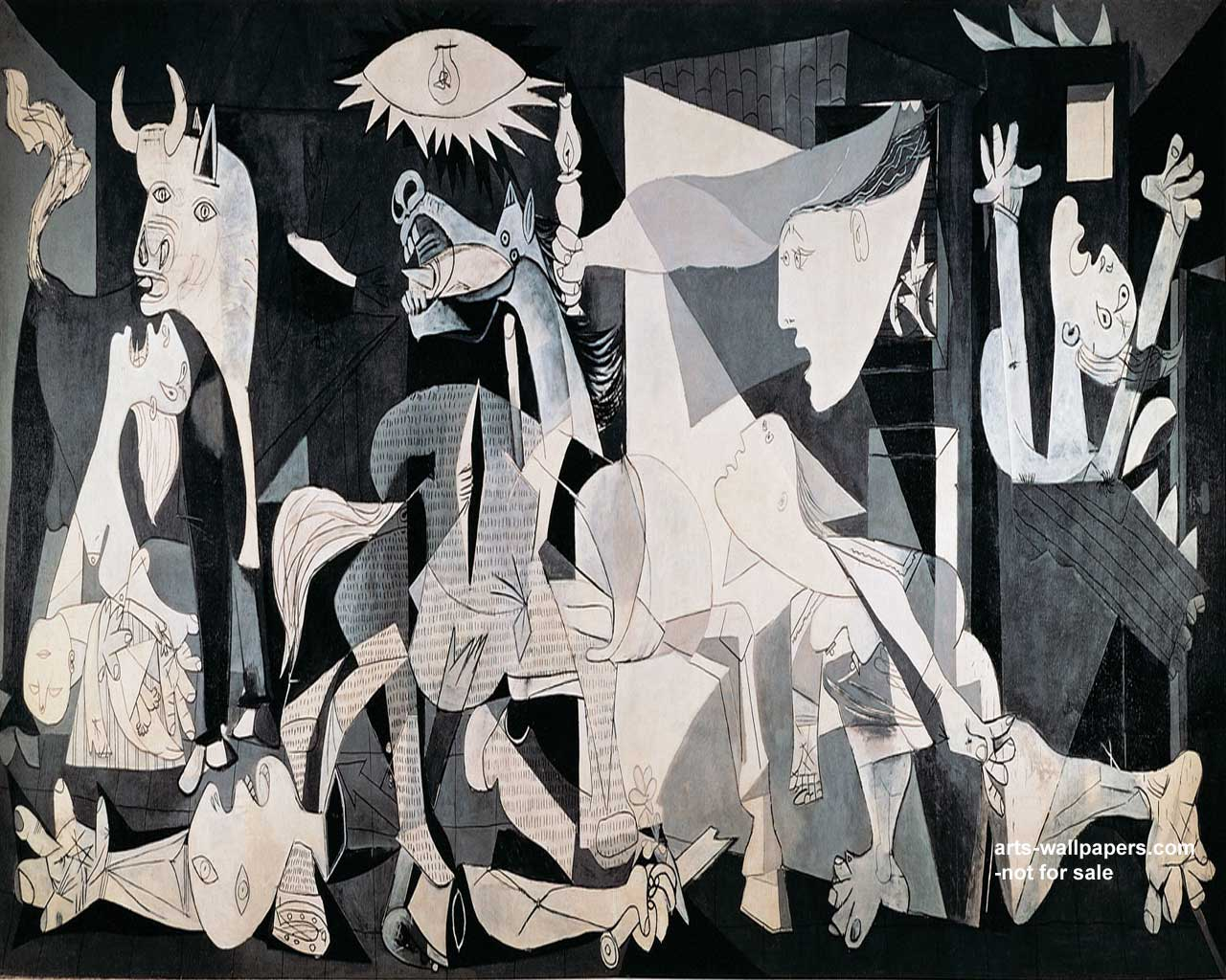 picassos guernica and uccellos battle of Nightmare at the picasso museum touched by the tumult of yet another impassioned battle over the ownership of the great artist that picasso painted guernica.
