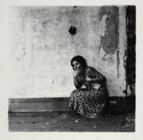 "Francesca Woodman, ""Self-Portrait"""